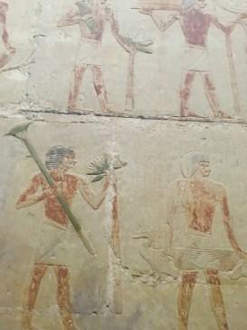 Inside Mastaba of Ti in Sakkara by Gigal