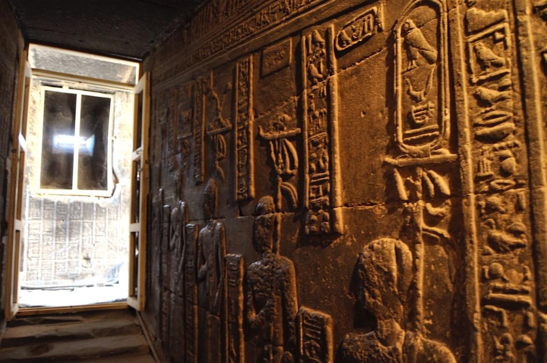 Dans le temple de Denderah par Gigal