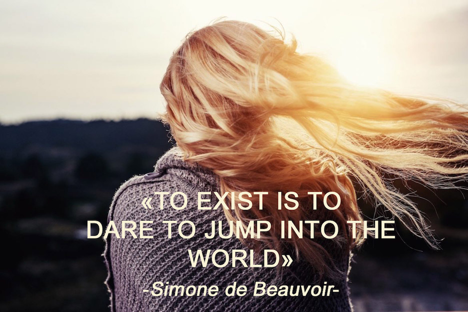 Simone de Beauvoir quote