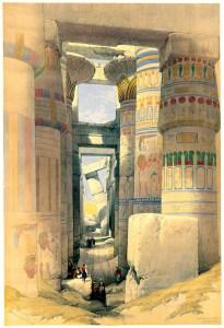 Karnak Temple 1880