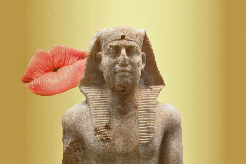 Ancient Egyptian Kiss