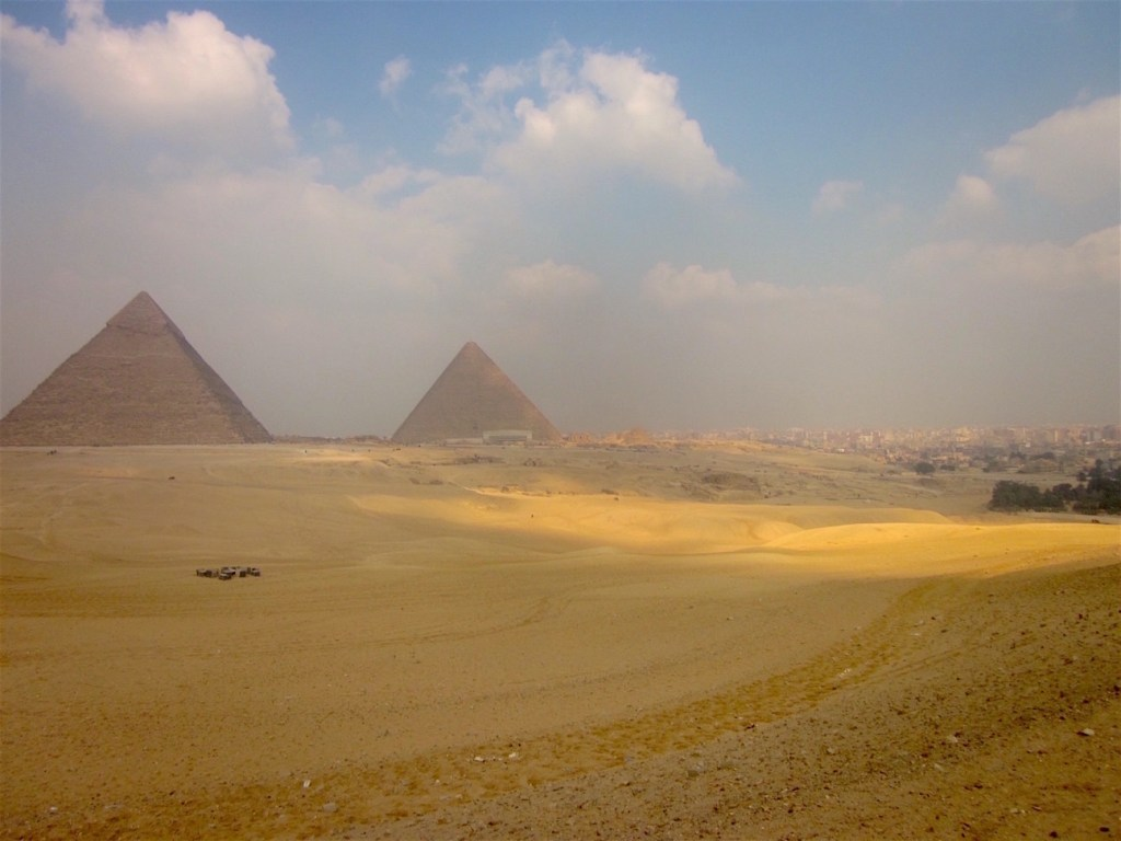 Plateau de Giza Photo©AntoineGigal