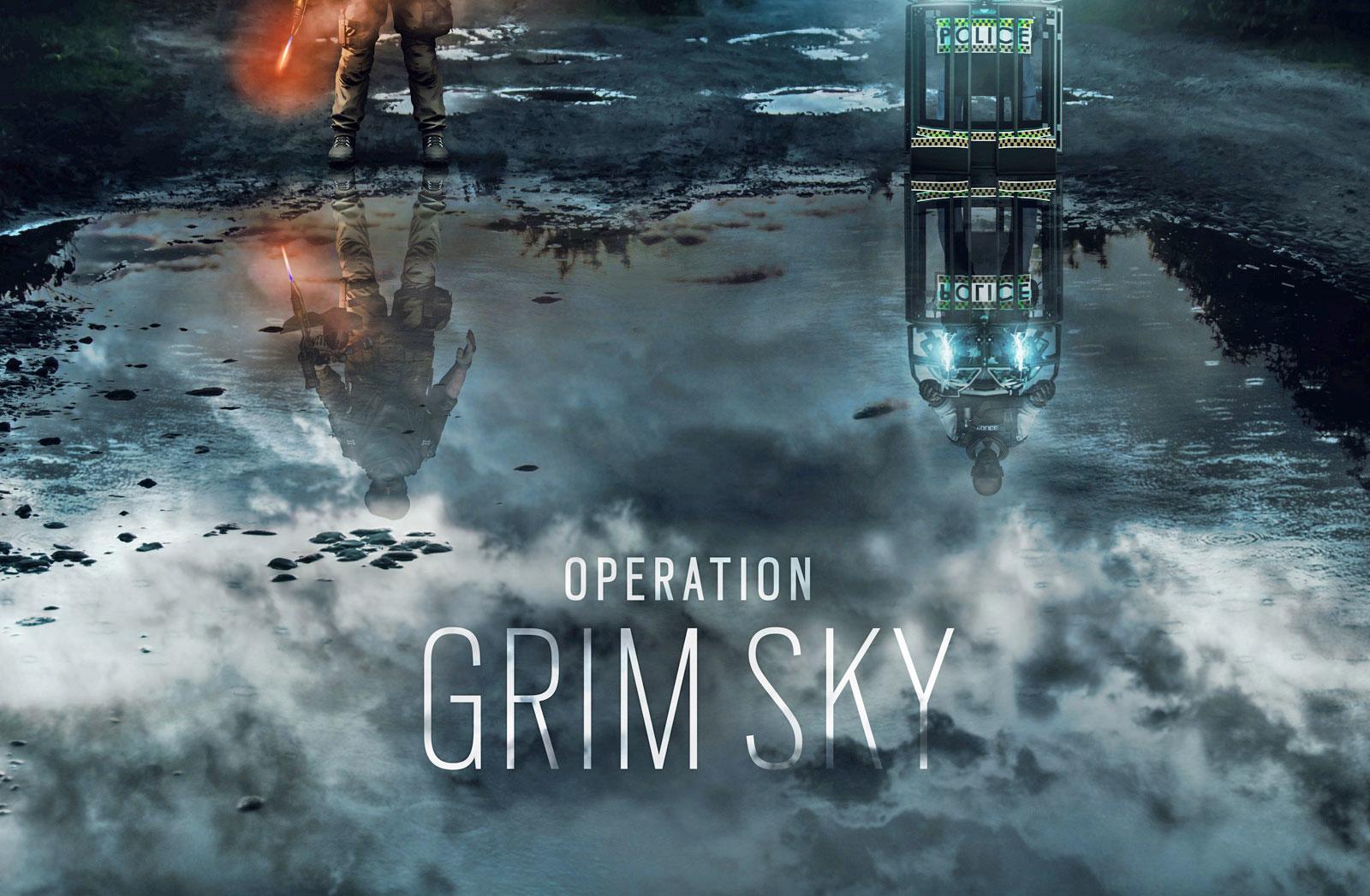 Six Rainbow Sky Siege New Grim Operators