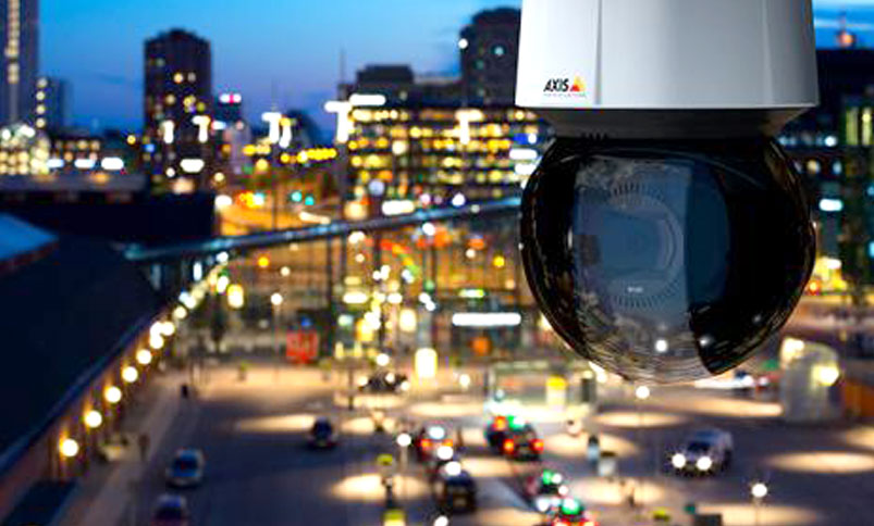 cctv surveillance camera from axis communications