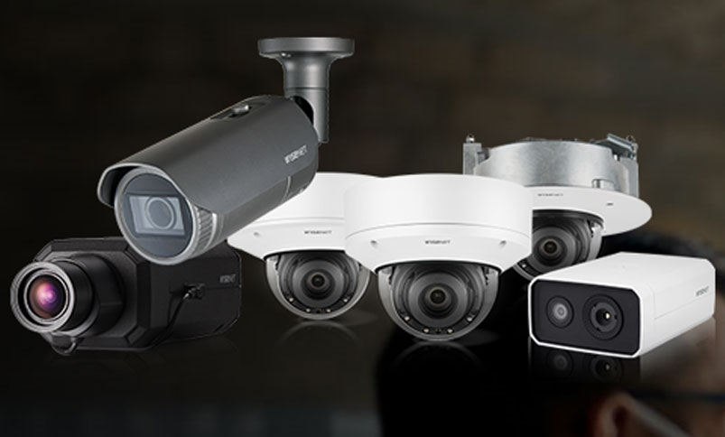 cctv surveillance camera from hanwha techwin
