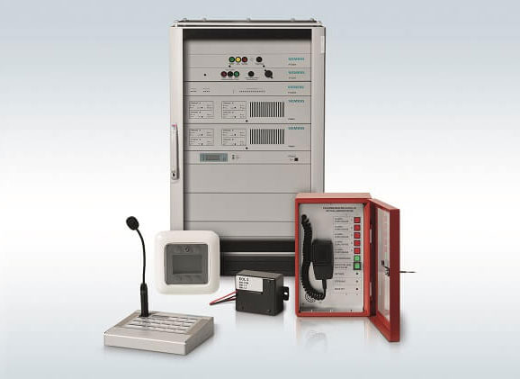 paging system & voice evacuation from siemens