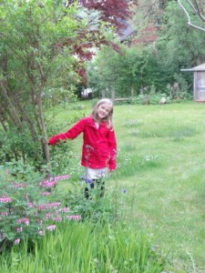 Neni hat einen schönen Garten...