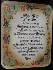 May God bless you all...