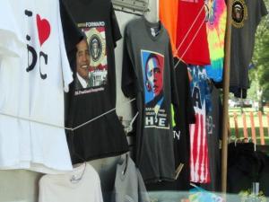 Ja, er war nur auf den T-Shirts zu sehen...