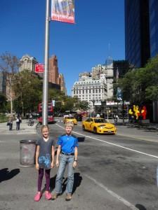 Wir waren in New York!