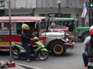 Transportmittel in Manila...