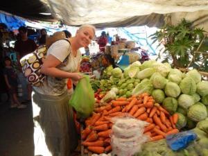 Einkaufen auf dem Markt...