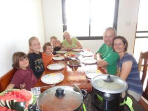 Das letzte Essen mit Familie Stroeck...