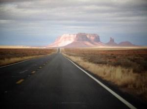 Wir kommen in die Nähe von Monument Valley...