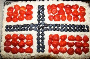 Ein kunstvoller Kuchen...