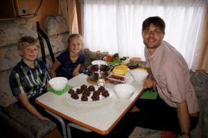 Essen im Camper immer wieder was tolles! :-)