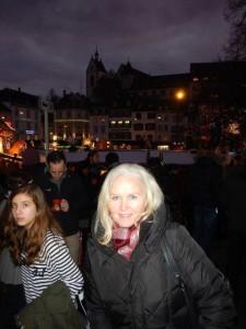 Mit Clauido noch zwei Tage in Basel...