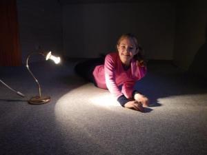 Der Teppich ist drin... Julia ist häppy...
