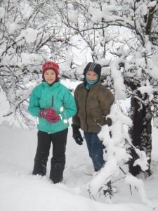 Schnee & Spass...
