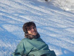 Schnee und Sonne, eine schöne Kombination...