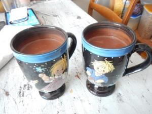Kakao zum aufwärmen...