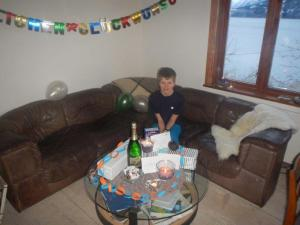 Alexander feierte seinen 13. Geburtstag