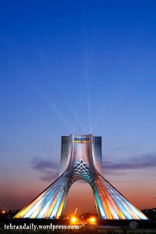 Azadi Tower New Style