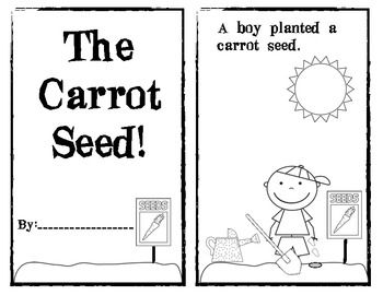 Book Of The Week The Carrot Seed
