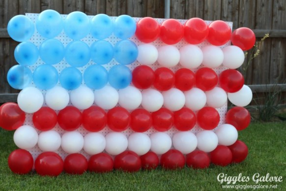 4th of July Balloon Dart Game