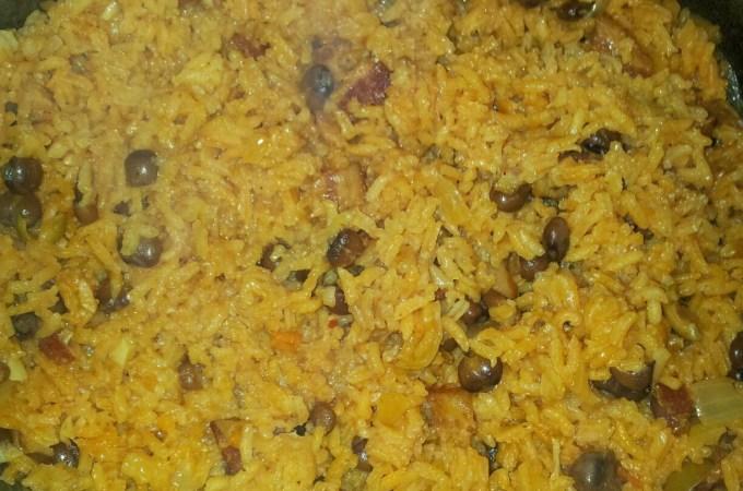 Traditional Puerto Rican Rice Recipe Arroz con Gandules