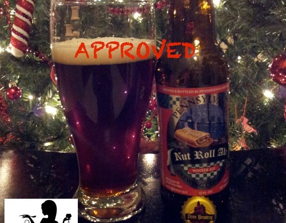 Malt Monday Beer Review of the Week:  Nut Roll Ale
