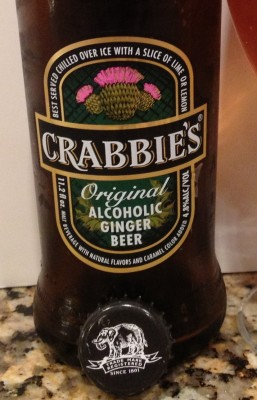 Malt Monday Beer Review of the Week: Crabbies Ginger Beer