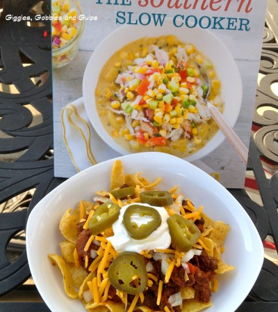 Book Review and Recipe Test:  Southern Slow Cooker with Frito Pie Chili con Carne Recipe