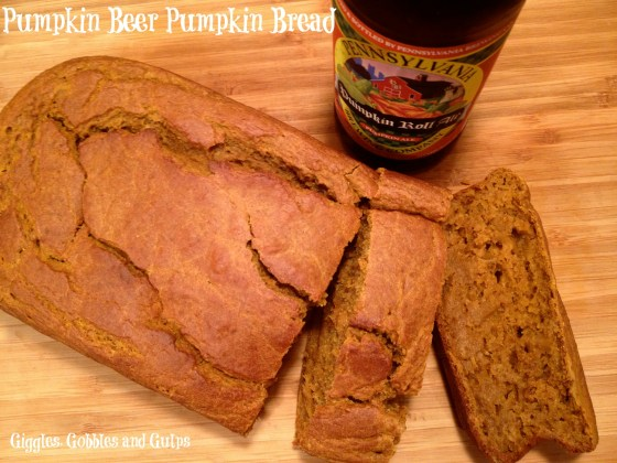 pumpkin beer pumpkin bread