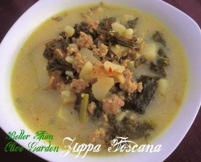 potato sausage and kale zuppa toscana