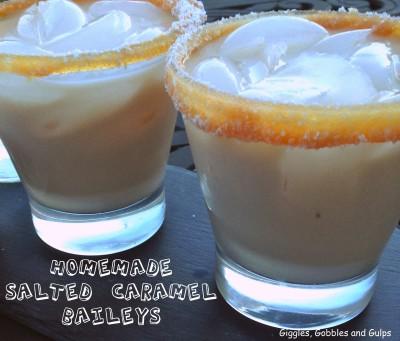 Donna's Homemade Salted Caramel Baileys