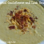 Roasted Cauliflower and Leek Soup Recipe