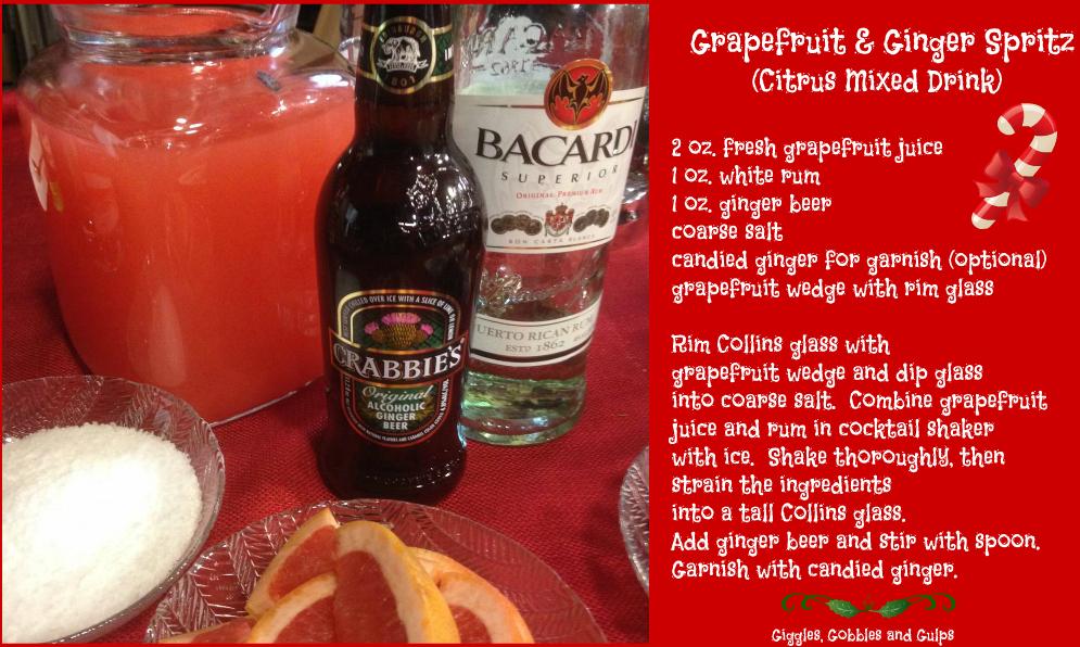 Easy Holiday Mixed Drink Recipes