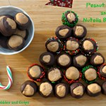 Making Peanut Butter and Nutella Buckeyes with My Little Guy