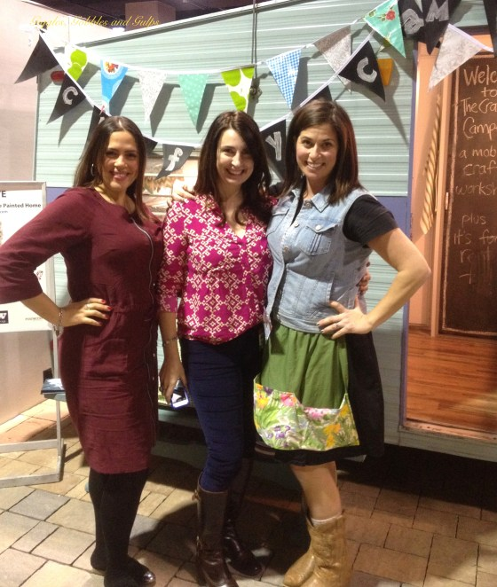 Me, Kelly Elko of Eclectically Vintage and Denise of The Painted Home.