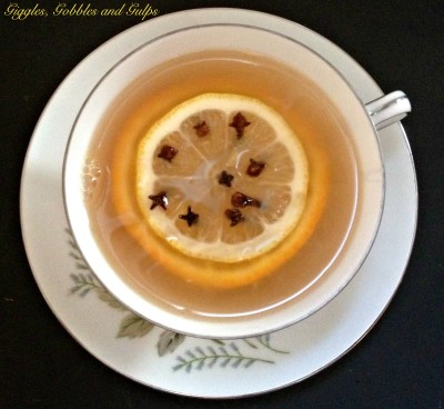 My Awful Cold and a Green Tea Hot Toddy Recipe