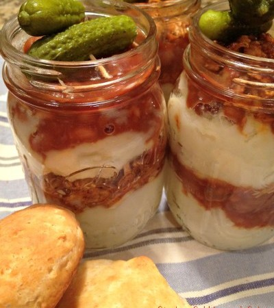 Mason Jar Barbecue Meal with EAT Barbecue