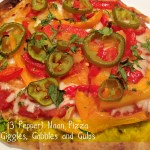 Big Game Food – 3 Pepper Naan Pizza