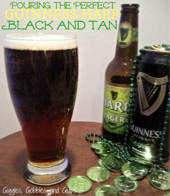Pouring the Perfect Guinness Harp Black Tan