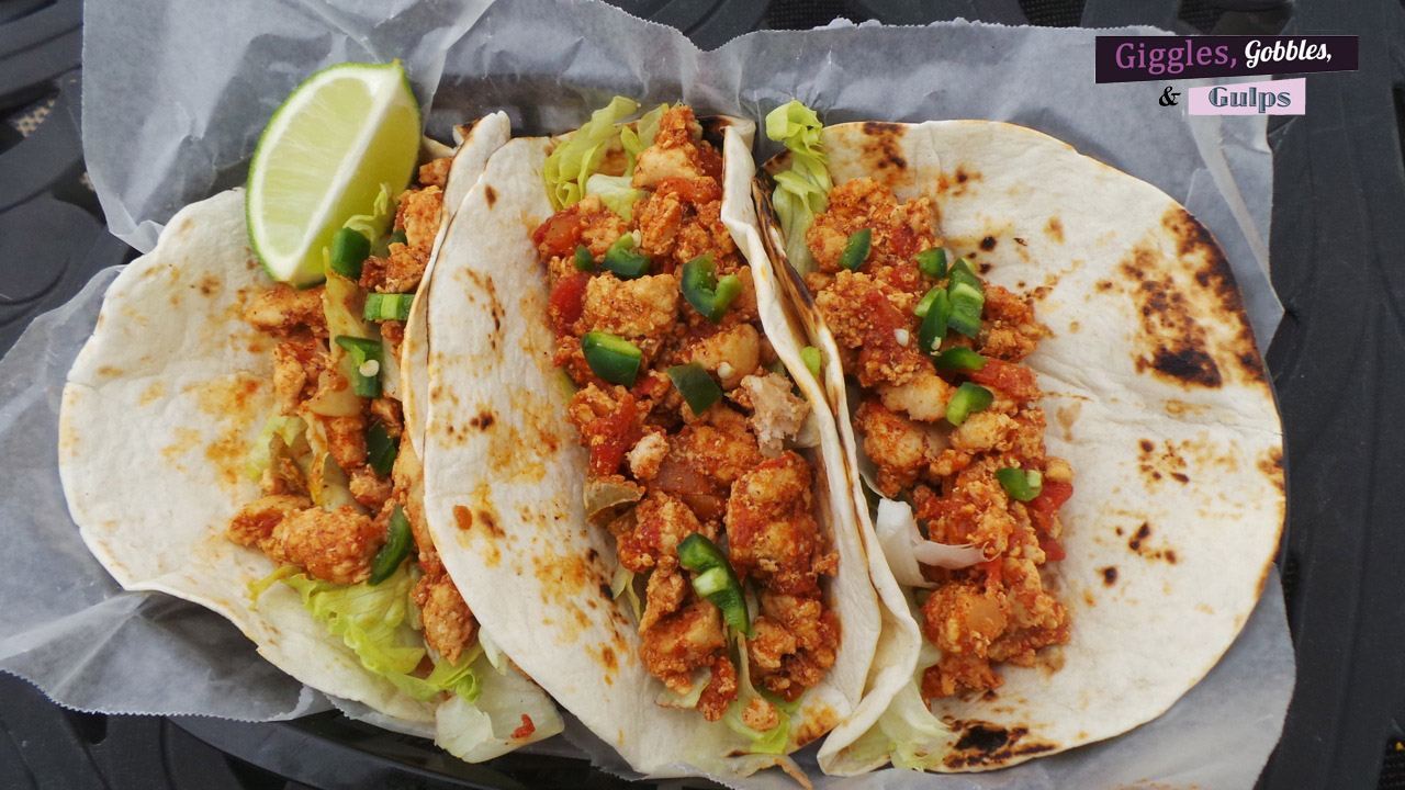 pantry style turkey meat soft tacos
