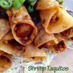 Shrimp Taquitos