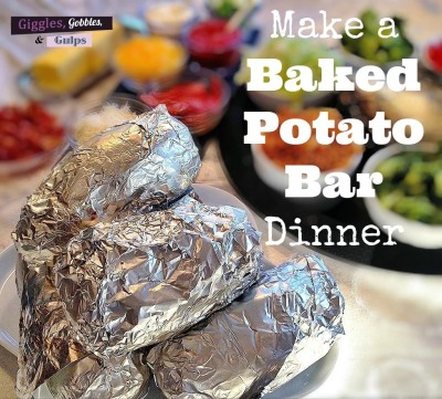 Reynolds Wrap Grill Party: Baked Potato Bar Ideas