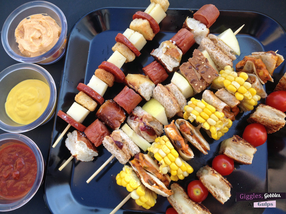 Simple Kid Friendly Lunch On A Stick