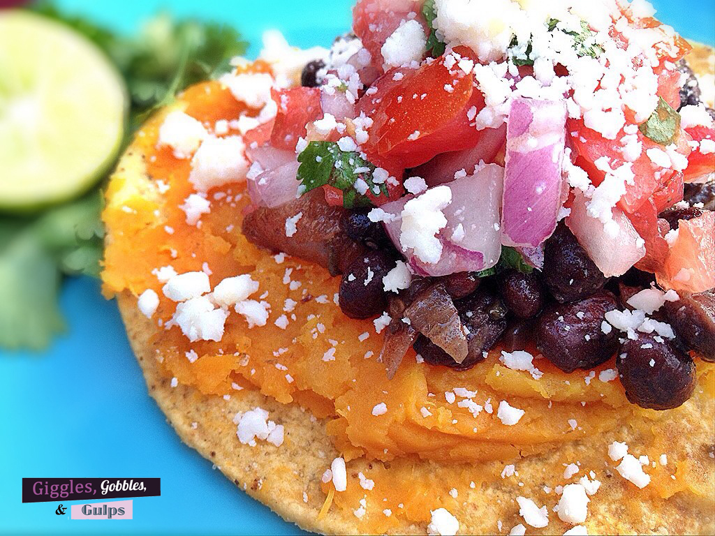 sweet potato black bean tostada2