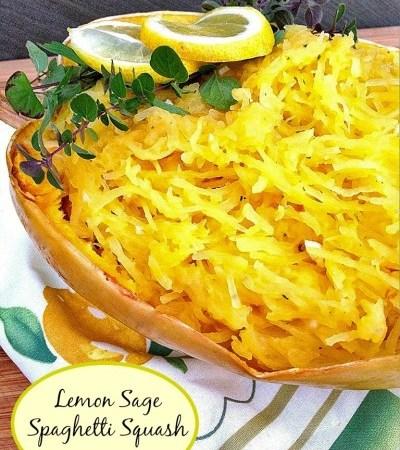 Lemon Sage Spaghetti Squash